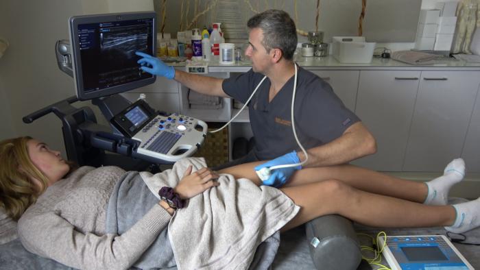 Tratamiento de Osgood-Schlatter con Neuromodulación