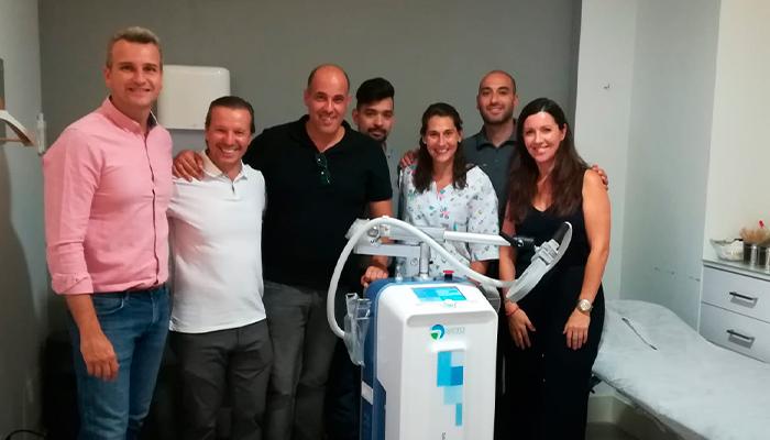 Estimulación electromagnética de alta intensidad para la fisioterapia